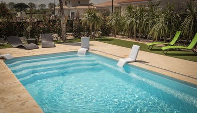 Photo for VILLA 5 * with PRIVATE POOL 5 minutes from the sea
