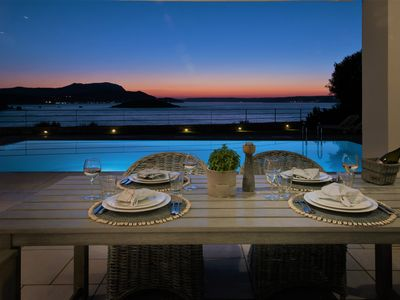 Photo for Welcome to Paradise! Seafront Luxury Villa with Heated Pool & Amazing Sea Views