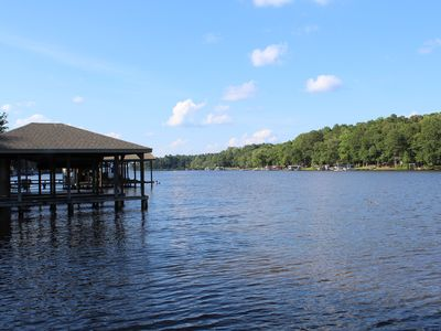 Photo for Get away from it all and enjoy Lake Gaston for One More Day!