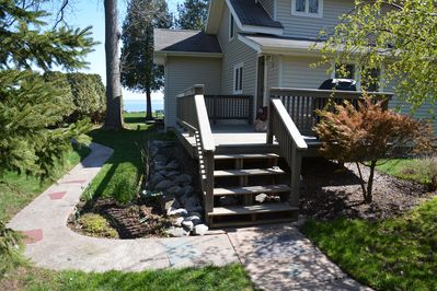 Entry Deck from Driveway