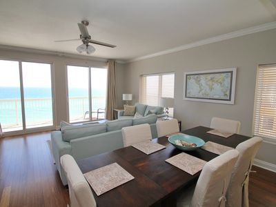 Photo for 8th Floor! GORGEOUS CONDO! Wrap balcony with loungers. Master with Beach View