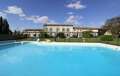 Photo for JASMINE heated swimming pool surrounded by vineyards and not far from the beaches
