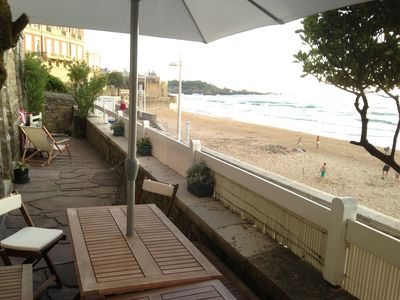 Photo for MIRAMAR BEACH FRONT LINE DOWNTOWN BIARRITZ