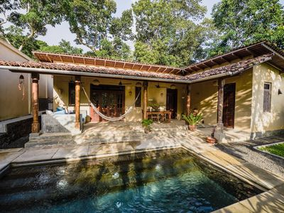 Photo for A beautiful, cosy retreat surrounded by Paddy Fields