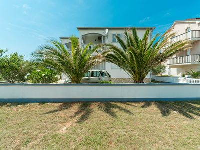 Photo for Apartment with sea view | in center | 50m from popular beach Jadro