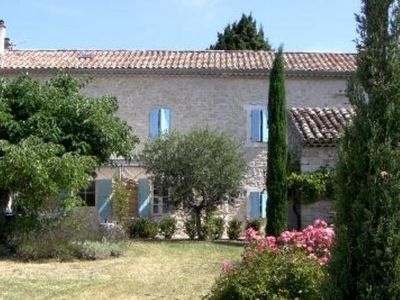Photo for Countryhouse with spacious garden in the Drôme Provençale