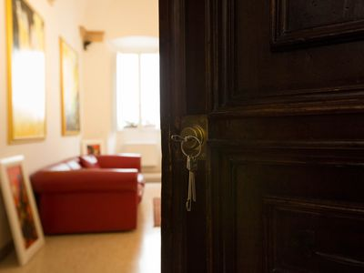 Photo for Ride the Beauty Art Apartment in the center of Assisi - giant medieval apartment