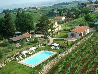 Photo for Holiday apartment San Gimignano for 2 - 4 persons with 1 bedroom - Holiday apartment in one or multi