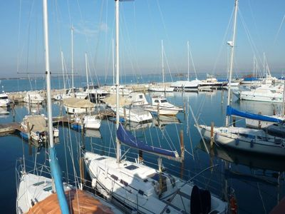 Photo for Between  boats and beach apt 810