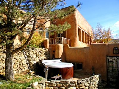 Photo for Hot Tub -Exquisitely Furnished and Renovated -Large Courtyard with fireplace