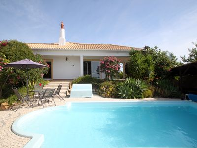 Photo for 4 bed villa sleeps 8. Private heated pool & stunning panoramic ocean views.