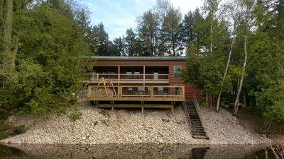The Cabin @ Hemlock Hills On Mill Pond ~ Relax ~ Year Around Luxury Home Rental