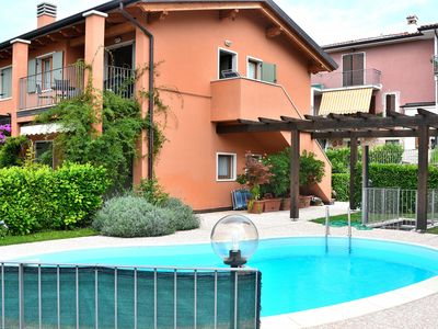Photo for Apartment Cà Nova With Pool - Apartment for 4 people in Garda