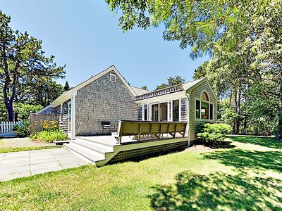 Photo for New Listing! Sunny Retreat w/ Big Deck & Sunroom, 5-Minute Walk to Lakes