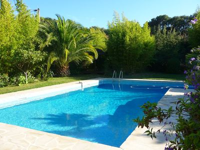 Photo for Very nice contemporary villa with pool and SPA Proximité beaches of Brusc