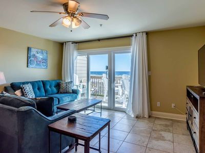 Photo for Beautiful Gulf Front Condo~ Private Balcony~ Steps from the Beach!