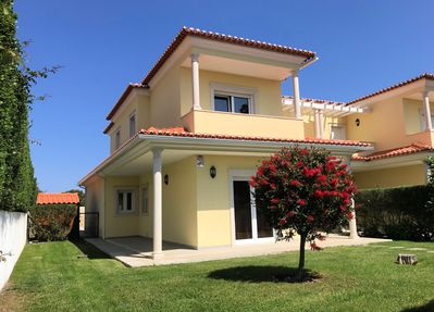 Modern villa with spacious accommodation.