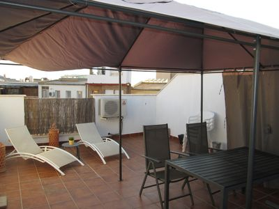 Photo for Malaga Centro Penthouse, 1 bedroom, 5PAX, terrace with shower