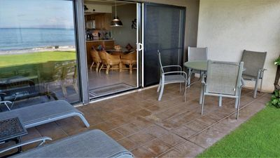 Photo for Ma'alaea Surf, Unit H3 - 180° Views! Amazing Ground Floor Beachfront Condo