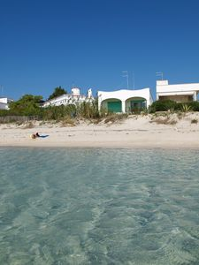 Photo for Directly on the beach. 6 beds in a villa with private access to the sea