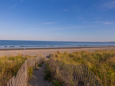 Photo for Spacious family friendly newly renovated beach house 100 steps from the beach