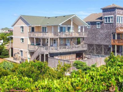 Photo for Have a Ball Oceanfront, Avon w/ Pool, Tiki Bar, Hot Tub, Game Rm, Wet Bar & More