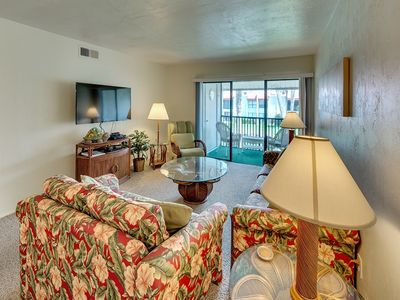 Photo for Great Fall Rates!  Steps Away from the Beautiful White Sandy Beach
