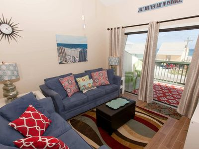 Photo for 2/2 Slps 6, Blcny, WiFi, W/D, Pool, Boat Launch/Slip/Pier/BBQ, Free Activities - The Landing 102