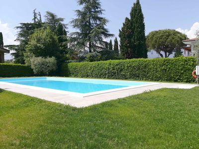Photo for Beautiful Yard Close to Lake Garda - Prato Verde Ortensia