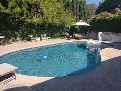Photo for BEAUTIFUL SPACIOUS HOUSE W/HIGH CEILINGS, PATIOS & POOL