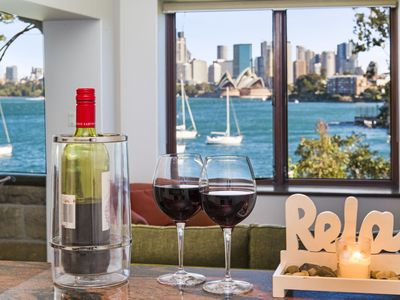 Photo for Sydney Harbour View Apartment iconic views to Opera House and Harbour Bridge