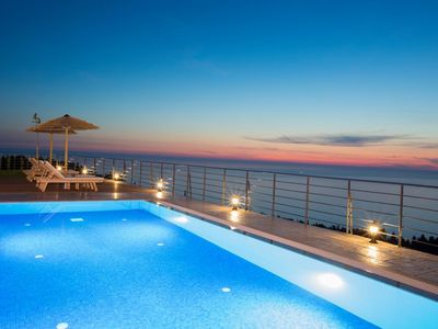 Photo for 20% OFF: Luxury Villa,combined with the endless blue view,close to Kathisma
