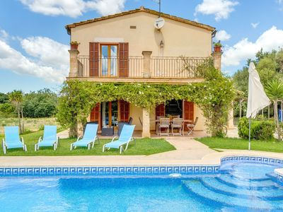 Photo for With pool surrounded by greenery - Villa Can Ines