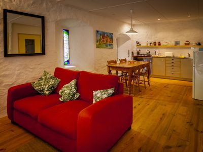 Photo for Les Cavaleries, garden apartment, characteristic overnight stay