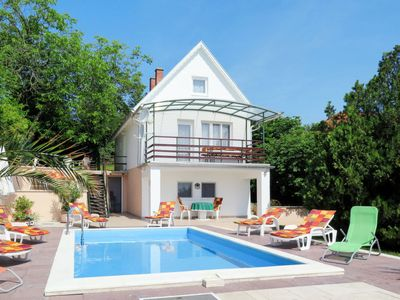 Photo for Balatonalmadi Holiday Home, Sleeps 8 with Pool and Free WiFi