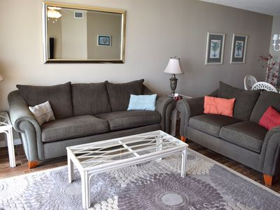 Photo for Ashworth Unit 1406! Stunning Ocean Front Condo! Book your get away today!