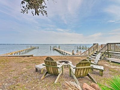 Photo for Waterfront Emerald Isle Home w/ Dock Access!