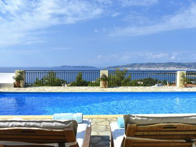 Photo for Exclusive hilltop villa, with astonishing view, - ''ANNA'', fully a/c
