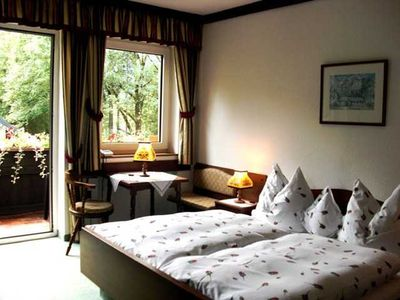 "Photo for Double room ""Sunshine"" - Hotel Garni *** Landhaus Bürtlmair"