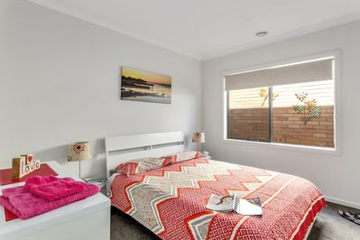 Another Queen Bedroom with Built-In Robe - Once Upon A Tide - Good House Holiday Rentals