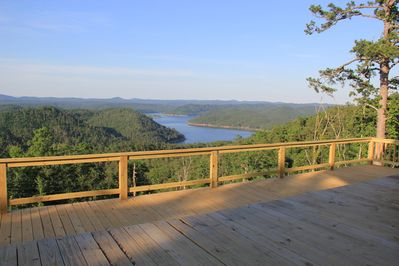 Deck at the The Summit House