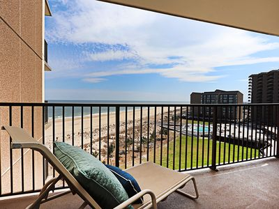 Photo for D703: 1BR Sea Colony Oceanfront Condo   Private beach, pools, tennis ...