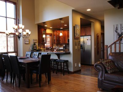 Photo for Luxurious & Spacious 4 Bdrm+Bonus Room Townhouse,Ski-in/Ski-out,Hot Tub,BBQ,View