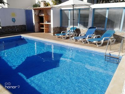 Photo for VILLA with PRIVATE SWIMMING POOL, Beaches nearby
