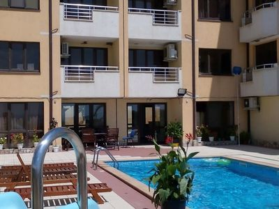 Photo for 2 room 93 m2 Apartment with a Terrace and Sea View