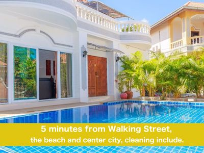 Photo for Villa 6 bedrooms near Walking Street and beaches
