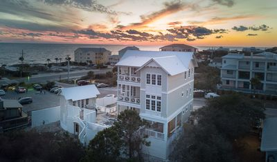 Photo for New Construction! Sandcastle by the Sea On 30A - Lakefront with Gulf Views - 4 min walk to Gulf