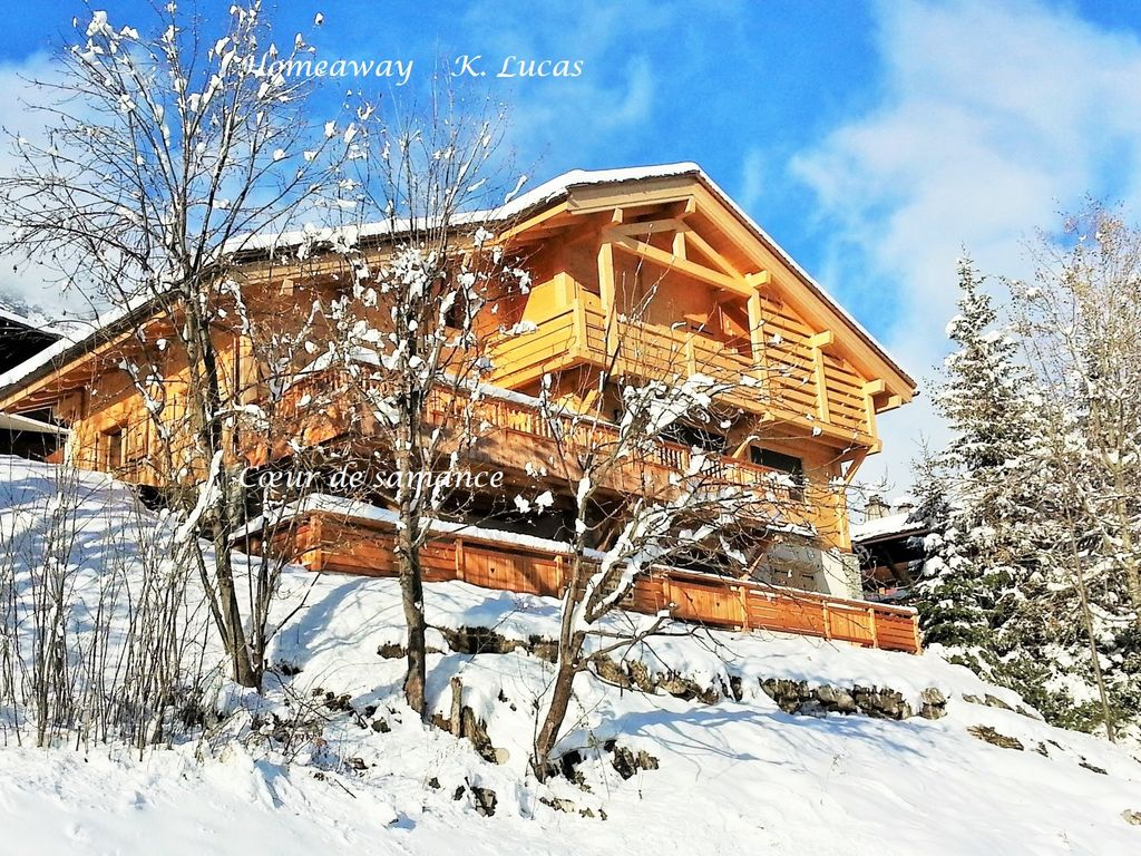 Appartement in new chalet grand bornan homeaway