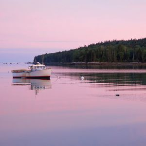 Enjoy the view of lobster boats right in front of the house.