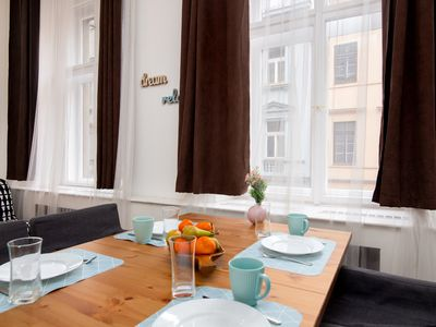 Photo for Soukenicka Apartcomplex Golden Red CZPRSK73 - Apartment for 13 people in Praha